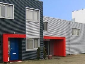 gevelbeplating renovatie bedrijfspand